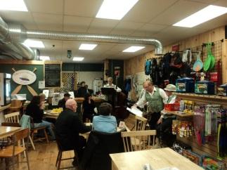 inside millers river cafe